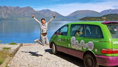 »Fahrten quer durch Australien mit preisgünstigen Campervans«