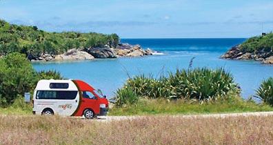 »Campervans in Neuseeland mieten können Sie bei uns«