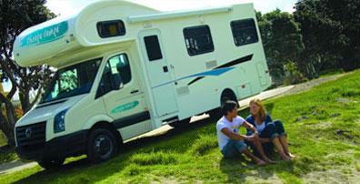 »Preisgünstiges Wohnmobil mieten Cheapa Campa Neuseeland«