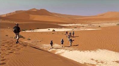 »Reise nach Namibia - Wüstenwanderung zum Deadvlei«