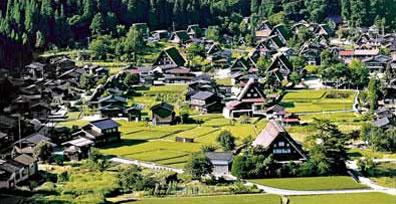 »Shirakawa-go - Faszination Japan Busrundreise«