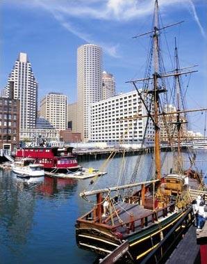 »Reise nach Boston - Tea Party Ships & Museum«