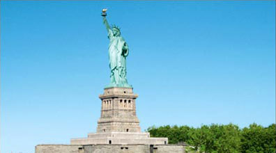 »Statue of Liberty - Besuchen Sie die Freiheitsstatue«