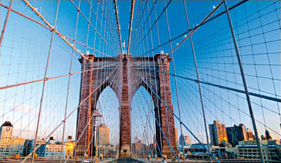 » Brooklyn Bridge - preiswerte New York St�dtereise «