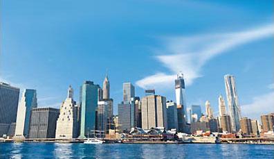 »Die  wohlbekannteste Skyline  der Welt - New York City«