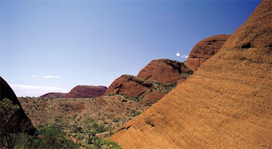 » Kata Tjuta (Olgas) - Valley of the Winds in Australien «