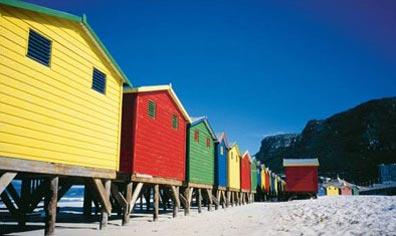 »Blick vom Blaubergstrand - Durch Königreiche nach Kapstadt«