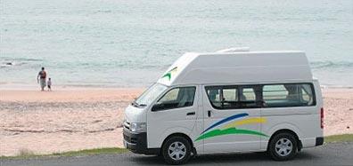»Campervan und Motorhome Vermietung in Neuseeland«