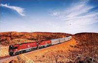 »Bahnpässe Australien und preiswerte Bahnreisen Australien«