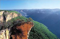 » Tagesreise zu den Blue Mountains in Australien «