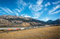 »Neuseeland - komfortabel mit der Bahn«