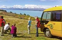 »Kleingruppen Safari Neuseeland - Busreise Neuseeland«