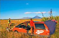 »Spaceships Campmobil Australien - preiswert reisen«
