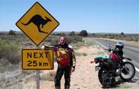 »Australien der Süden - Motorradtour Australien«