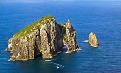 »Hole in the Rock, Bay of Islands - Klassische Neuseeland«