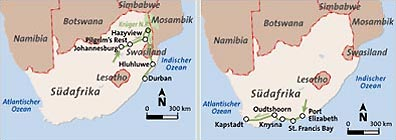 »Südafrika Klassiker - Teiltouren«