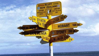 »Reise mit dem Mietwagen durch Neuseeland«