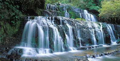 »Mietwagenreise Neuseeland erfahren: die Catlins Falls«
