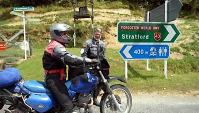 »Motorradtouren und Motorradreisen durch Neuseeland«