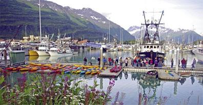 »Mietwagenreise Highlights Alaska & Yukon: Hafen von Valdez«
