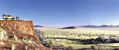 »Naturrundfahrt in der Namib Desert Lodge«