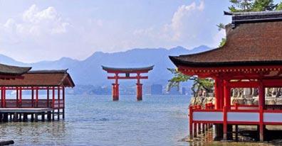 »Reise nach Japan: Itsukushima Schrein in Miyajima«
