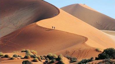 »Traumreise Namibia: Die riesigen Sossusvlei Dünen«