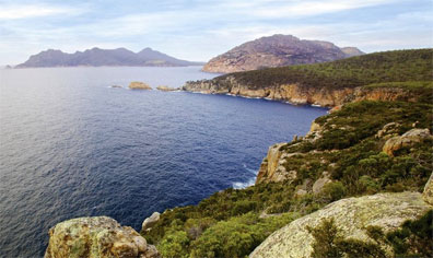 »Tasmanien für Genießer: Cape Tourville Freycinet Nationalpak«