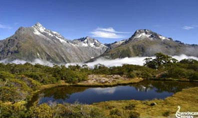 »Auf dem Routeburn Trek - Reise nach Neuseeland«