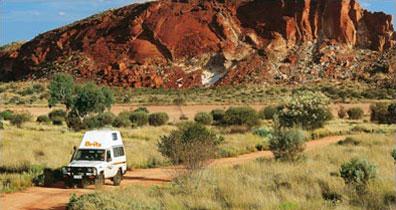 »Wohnmobilurlaub in Australien - Tour durch das rote Zentrum«